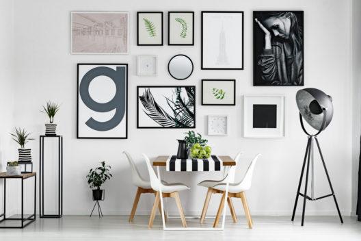 feature post image for So lässt sich daheim eine schöne Bilderwand gestalten