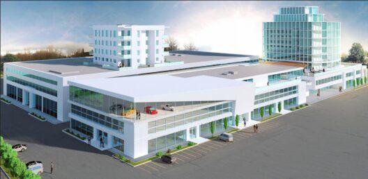 Modernes Gewerbecenter in Arlesheim