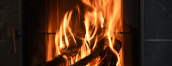 Wood,Burning,In,A,Fireplace,To,Warm,The,House